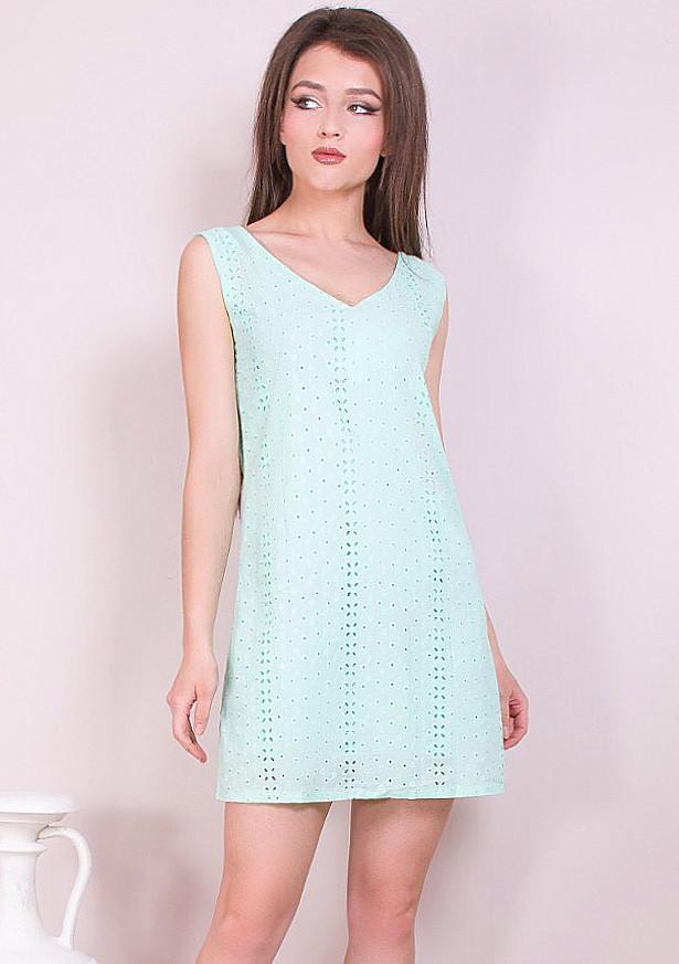 Женское платье-сарафан из прошвы 42-48