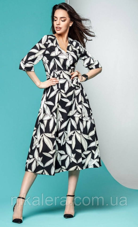 Женское платье в романтическом стиле рр 42-46