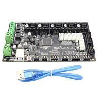 Плата управления MKS Gen V1.4 ARDUINO + RAMPS для 3D-принтера (z00055)