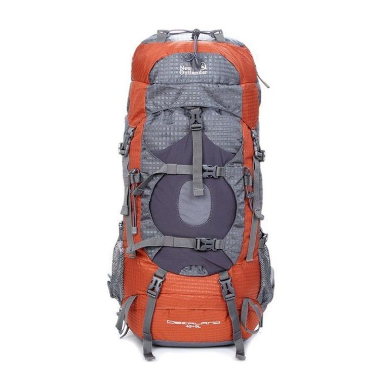 Походный рюкзак на 45 50 л New Outlander коричневый (AV 2148)