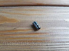 Окончание на шнурок 019080 цвет темный-никель