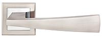 Ручка для дверей на розетке Z-1215 матовый никель