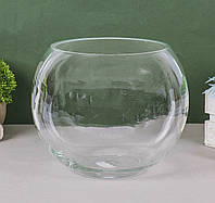 Круглый аквариум, аквариум шар для петушка/золотой рыбки