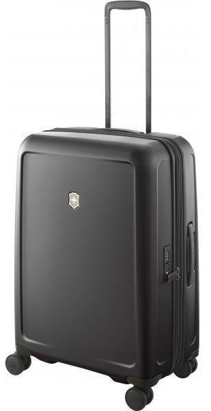 Пластиковый чемодан средний Victorinox Travel CONNEX HS Vt605667 71 л, черный