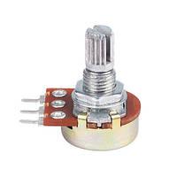 Резистор переменный потенциометр WH148 B5K линейный 15мм 5кОм (z03283)
