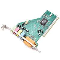 PCI 4 канальная звуковая карта + MIDI Game порт C-Media CMI8738-SX (z04305)