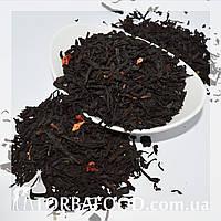 Чай черный Клубничный джем 100 грамм, фото 1