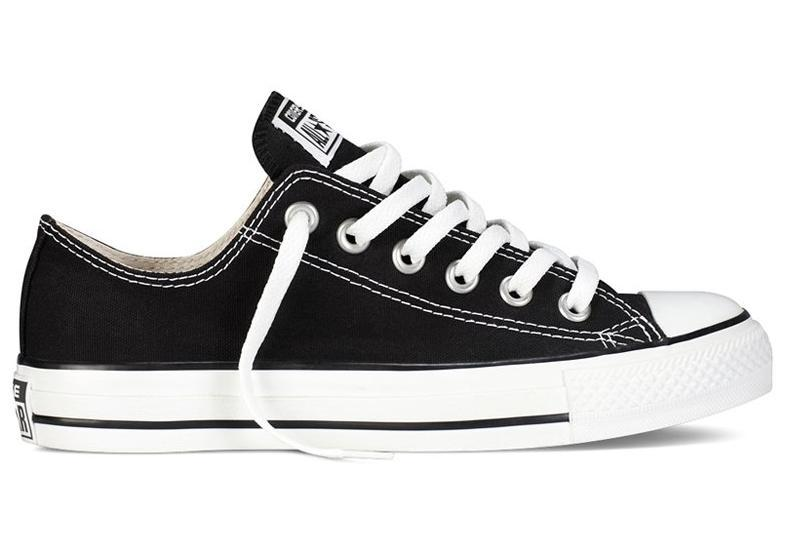 Кеды Converse All Star низкие Replica (реплика) черные New Styles