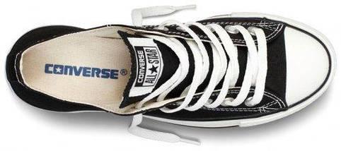 Кеды Converse All Star низкие Replica (реплика) черные New Styles, фото 3