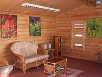 Блок хаус сосна для внутренних и наружных работ Тысменица