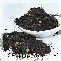 Чай черный Земляника со сливками 100 грамм, фото 1