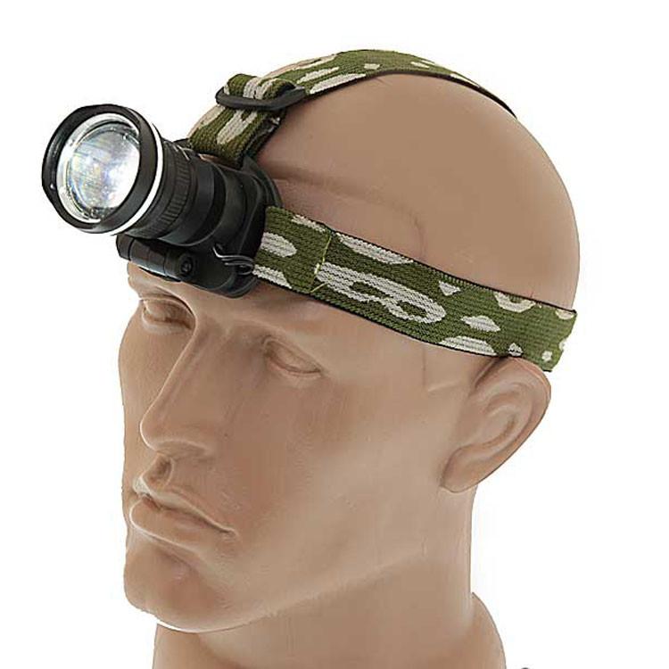 Налобный фонарь BL POLICE 6807 30000W Q5 фонарик 500 Lumen Фонарь туристический мощный фонарик на голову
