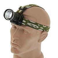 Налобный фонарь BL POLICE 6807 30000W Q5 фонарик 500 Lumen Фонарь туристический мощный фонарик на голову, фото 1
