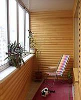 Блок хаус сосна для внутренних и наружных работ Тлумач