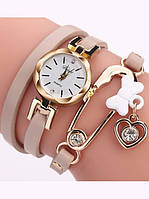 Модный женский браслет-часы