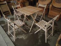 Стол и стулья для пикника  — набор мебели «Складной 2»