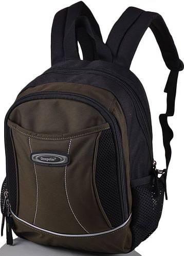 Удобный школьный рюкзак 20 л. Onepolar W1296-green