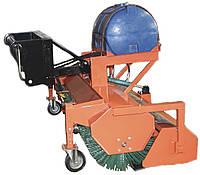 Щетка дорожная (коммунальная) к телескопическим погрузчикам , фото 1