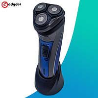 Электробритва Aqua Touch Plus PT-920 с плавающими головками и аккумулятором