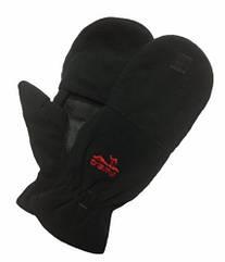 Перчатки зимние Tramp Fleece Black