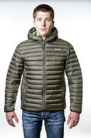 Куртка утеплена urban Tramp. Осенняя куртка оливковая розмір S
