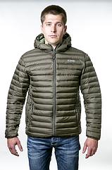 Куртка утеплена urban Tramp. Осенняя куртка оливковая