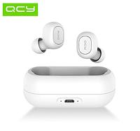 QCY T1 (QCY QS1 T1C) WHITE TWS Полностью беспроводные раздельные наушники Bluetooth 5.0 гарнитура-наушники, фото 1