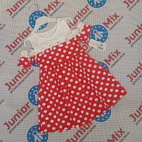 Детские летние сарафаны в горошек для девочек оптом  Fashion