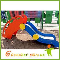 Горка Крым-1 с фанерным поручнем для детей игровые уличные площадки