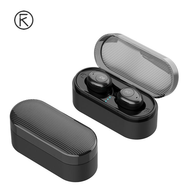 IKF Boom TWS Полностью беспроводные раздельные наушники Bluetooth 5.0 гарнитура-наушники