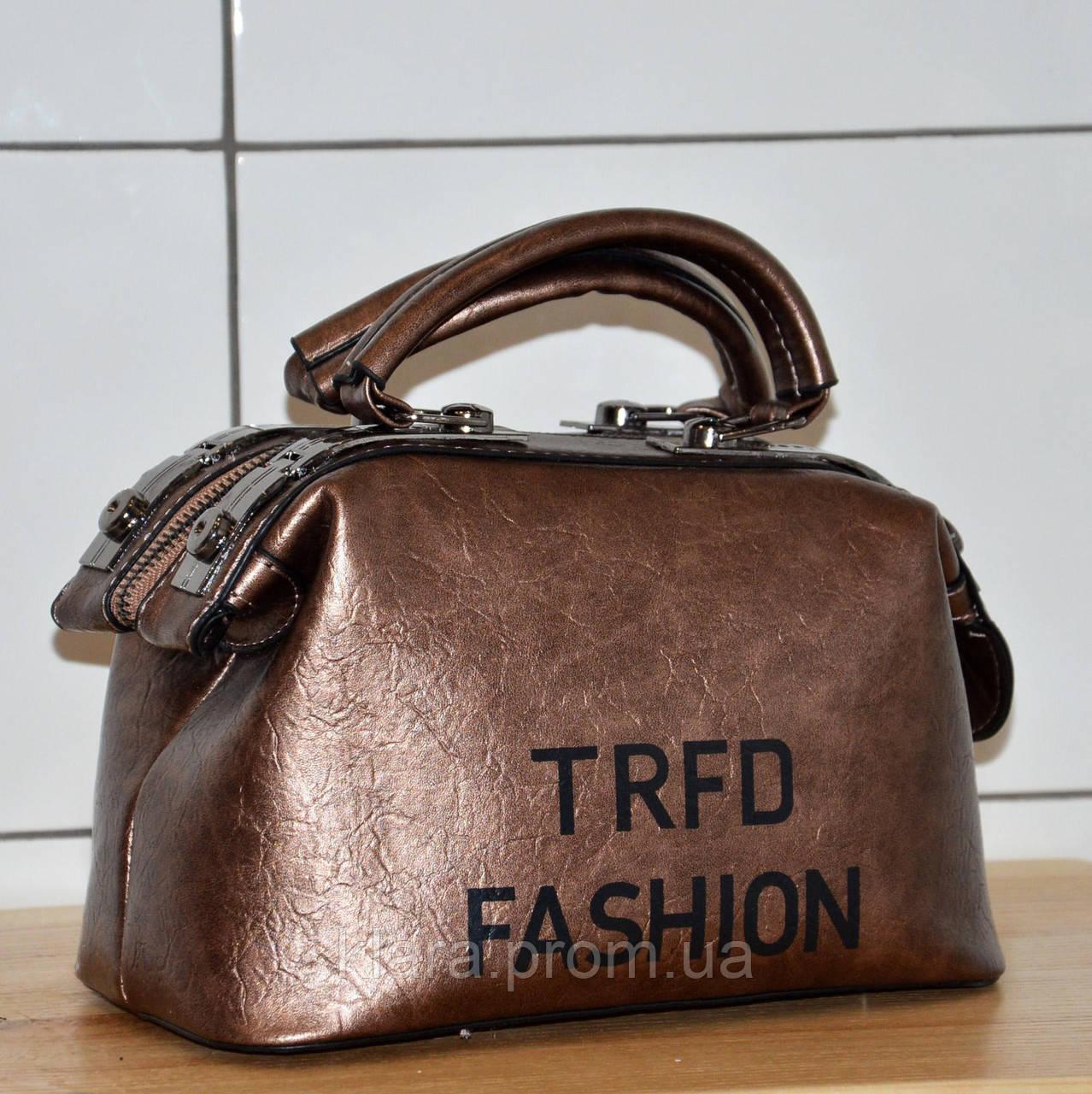 09f1b5ea96ff Модная новинка-перламутровая коричневая женская сумка-саквояж, с ручками и  на плечевом ремнем