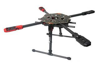 Карбоновая рама квадрокоптера Tarot 650 Sport 600мм с убирающимися шасси (TL65S01)