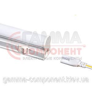 Светодиодный светильник Т5 линейный накладной 5Вт, нейтральный белый, 30 см