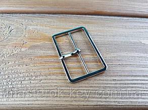 Пряжка 019056 42мм цвет никель