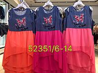 Платье для девочек оптом, Seagull, 6-14 лет, арт. CSQ-52351