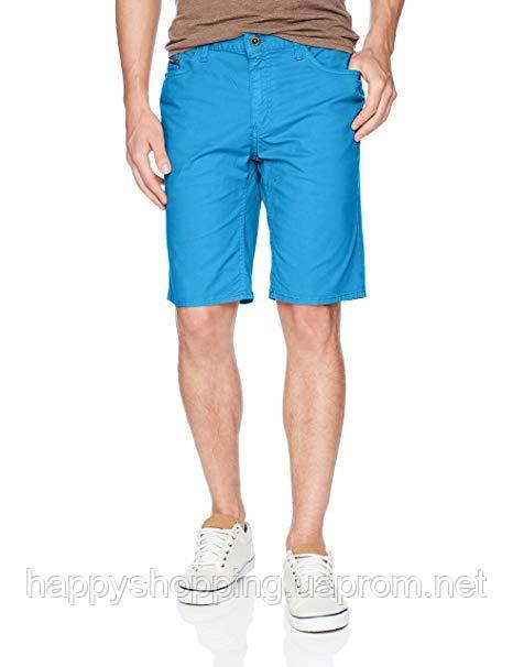 Мужские голубые джинсовые шорты Calvin Klein Jeans