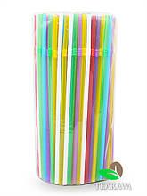 Трубочка для соку кольорова (ПП), d5, 21 см, 200 шт