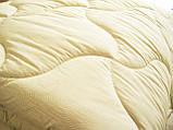 Одеяло полуторное холофайбер хлопок 150*210 (4414) TM KRISPOL Украина, фото 3