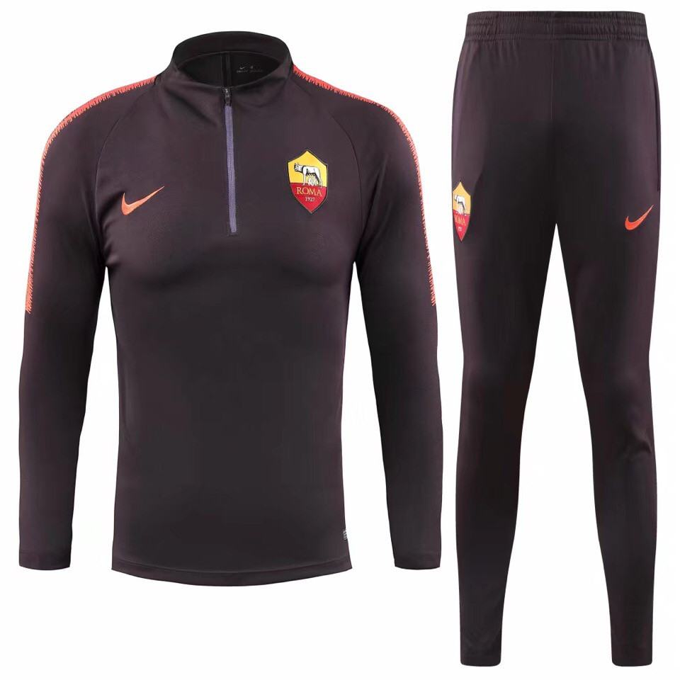 Костюм тренировочный Рома 2018-2019 коричневый размер XL
