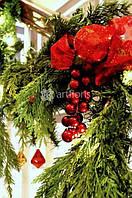 Новогоднее оформление интерьера, фасада, территории частных домов и дач