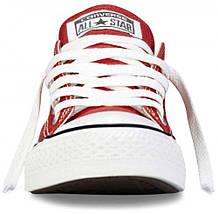 Кеды Converse All Star низкие Replica (реплика) красные New Styles, фото 3