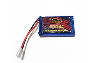 Аккумулятор Dinogy Li-Pol 600mAh 3.7V 1S 65C 44.5x25x9мм для Eachine QX90