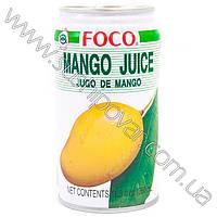 Напиток FOCO из плодов манго 350мл