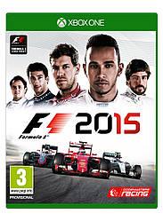 Formula 1 2015 XBOX ONE \ XBOX Seires X