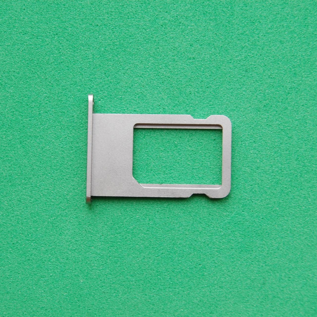 Держатель sim-карты для Apple iPhone 6S Space Gray
