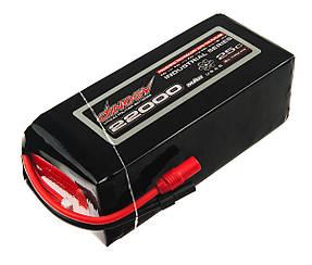 Аккумулятор Dinogy Li-Pol 22000mAh 22.2V 6S 25C 73x90x205мм AS150+XT150