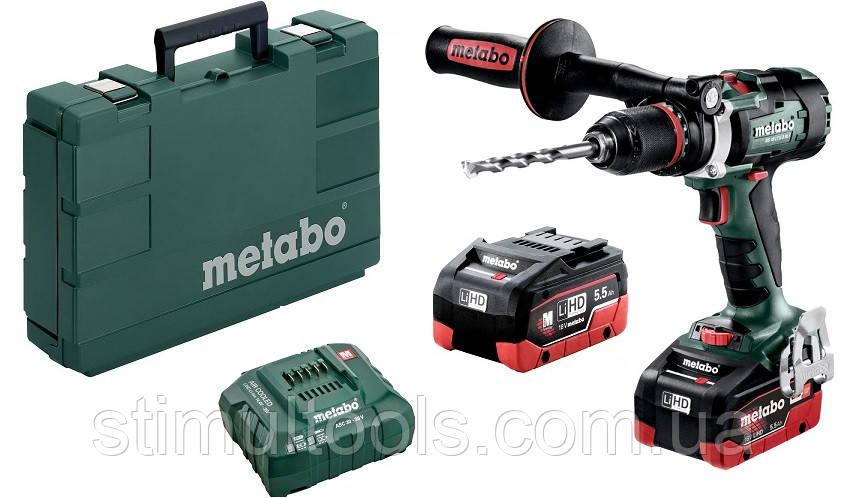 Аккумуляторный шуруповерт Metabo BS 18 LTX-3 BL I LiHD 5.5 Ач