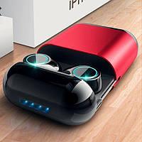 Оригинальные Беспроводные Вакуумные Bluetooth(5.0) наушники с зарядным футляром JRGK S7 TWS