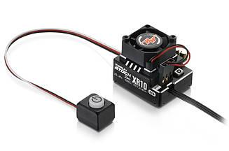 Регулятор сенсорный HOBBYWING XERUN XR10 PRO STOCK Spec 80A 2S для автомоделей