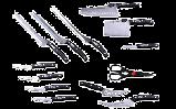 Набір професійних ножів Miracle Blade World Class 13 шт, фото 2